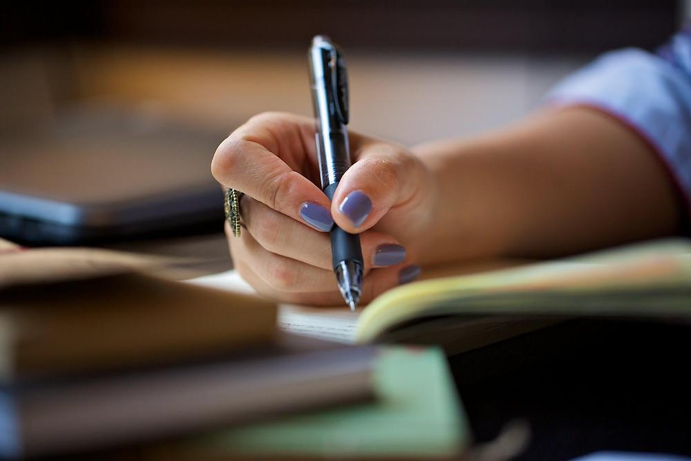 stylo écrit