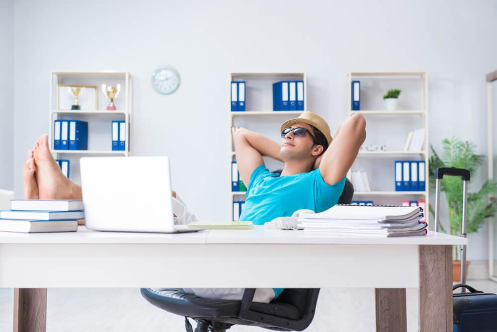 écrire boulot temps