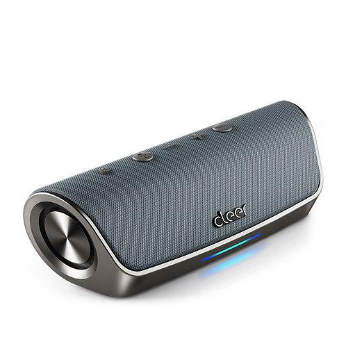 Cleer Bluetooth Alexa Speaker Grey