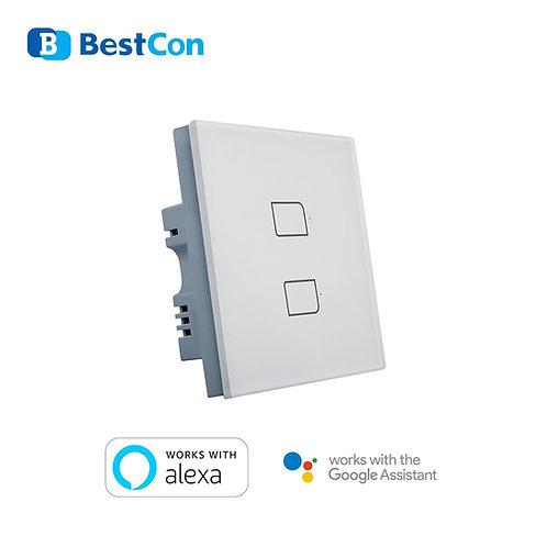 Broadlink Smart Light Switch 2 Button (1-way)