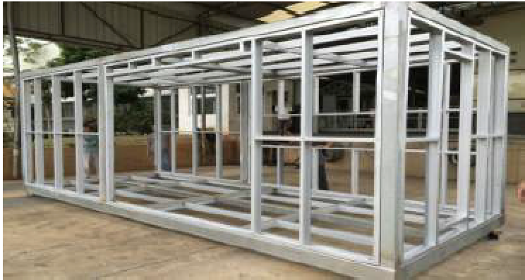 steel-frame modular home