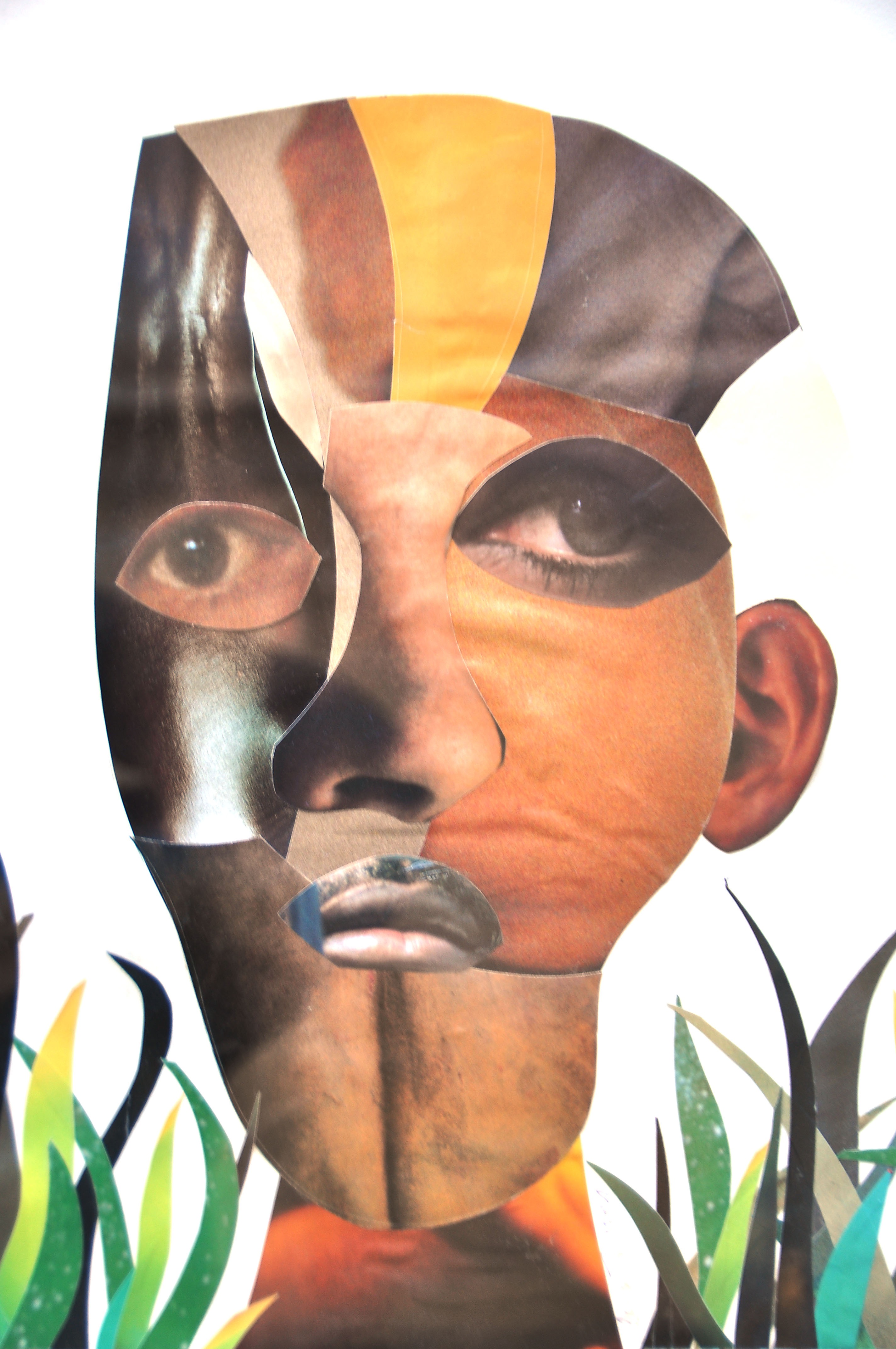 Mask Collage - African