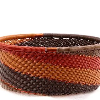 ZULU Wire African Basket
