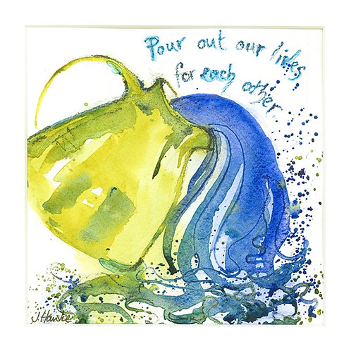 Pour out our Lives