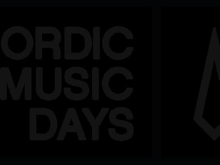 Norrænir músíkdagar – opið fyrir umsóknir, Helsinki 2018