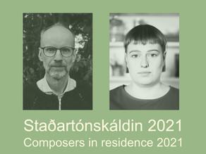 Sumartónleikar í Skálholti 2021: Staðartónskáld valin