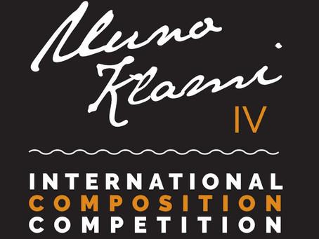 IV INTERNATIONAL UUNO KLAMI COMPOSITION COMPETITION
