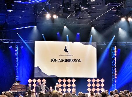 Íslensku tónlistarverðlaunin: Jón Ásgeirsson hlýtur heiðursverðlaun Samtóns