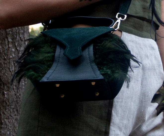 EAGLE Mini city bag - FOREST