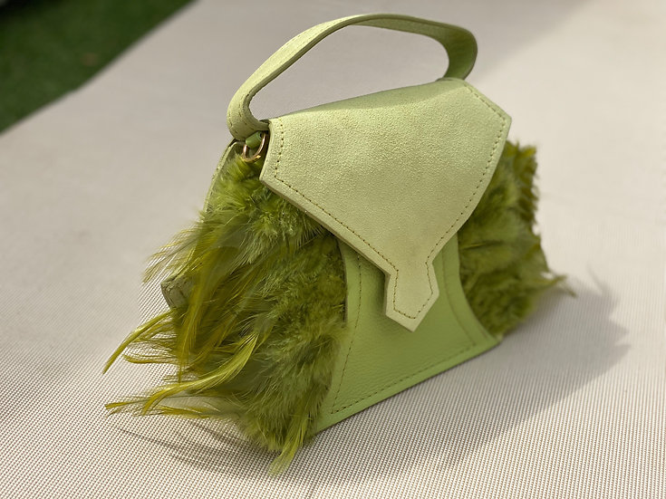 EAGLE Mini city bag - LIME