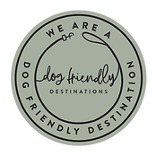 We are a Dog Friendly Destination badge-