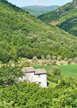 Villa Ranca seen from above
