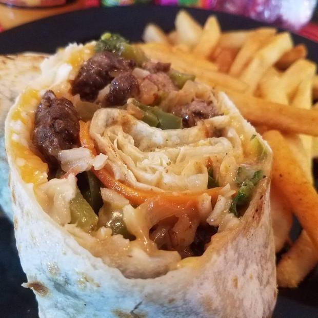 Jerk Chicken Wrap