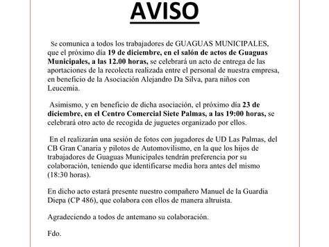 Colaboración con la Asociacón Alejandro da Silva