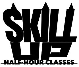 Skill-Up half hour sessions are a supporting addition to your schedule: For example, learning Urban Hip Hop choreography consists of many foundation Hip Hop Grooves. Adding a Skill-Up half hour class in 'Grooves' (see timetable) will accelerate your understanding and help you move more precisely.