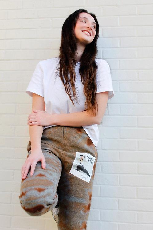 BLACK & WHITE single - sweat pants