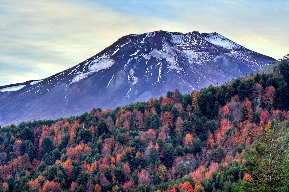 Cabalgata Ancestral, Chile Volcan_Lonqui