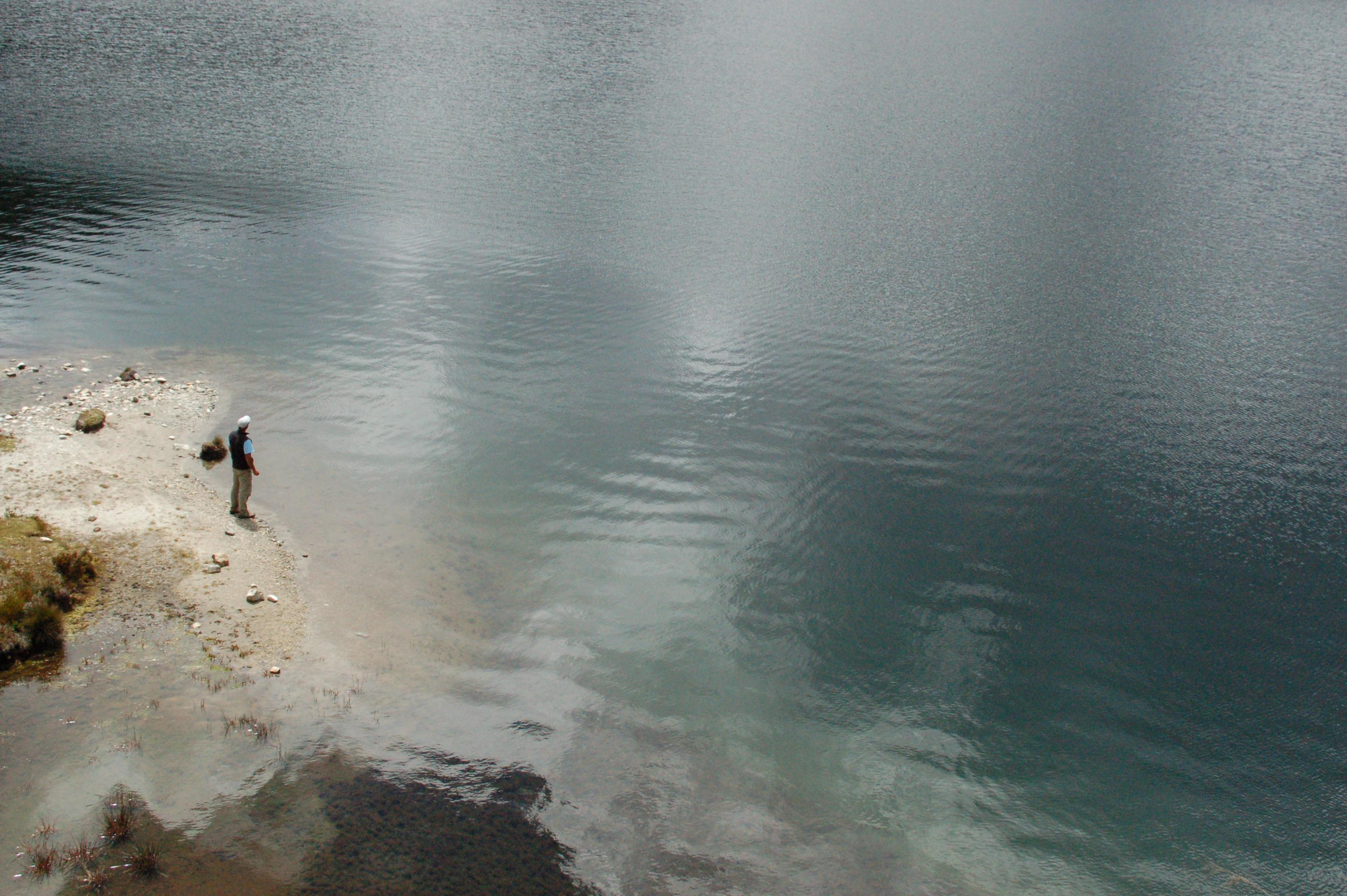 Gavidia, Laguna Santo Cristo