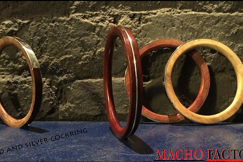 COCK-RING Basic wood & Metal