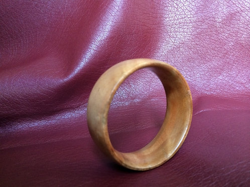 copy of ETHNIC COCK-RING Flat Smooth wood