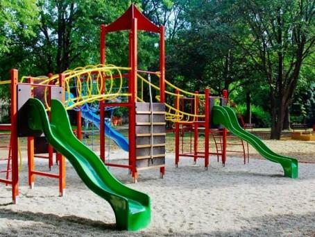 Tipo de areia para playground