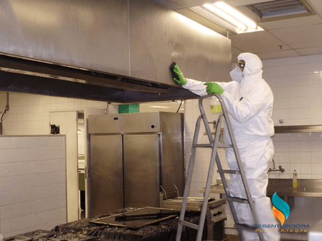 Sistemas de Exaustão para Cozinhas Industriais e Fast-Foods