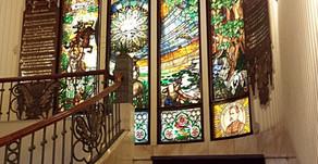 Stained Glass   Grand Hotel Gellert   Budapest, Hungary