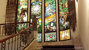 Stained Glass | Grand Hotel Gellert | Budapest, Hungary