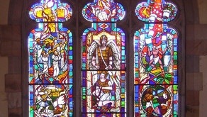 Stained Glass | University of the South, All Saints Chapel - Sewanee, TN