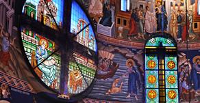 Stained Glass | Saint Basil Church - Belgrade, Serbia