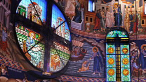 Stained Glass | Saint Basil Church - Belgrade, Serbia