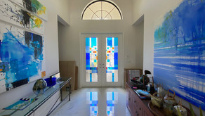 Abstract Stained Glass Windows and Doors