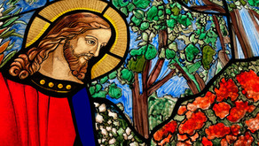 New Stained Glass Window - Trinity by the Cove Episcopal Church - Church in Port Royal, Naples