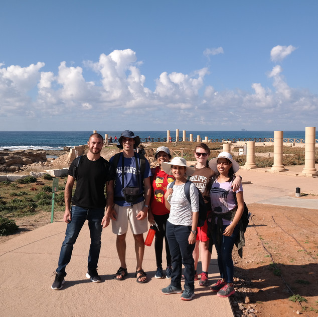 Caesarea group photo.JPG