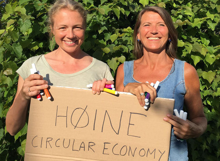 HØINE sirkulærøkonomi-workshop