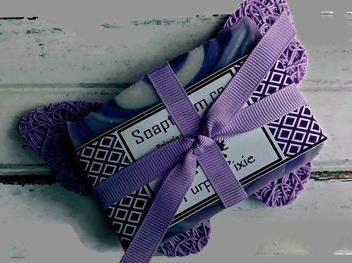 Pixie & Purple Butterfly Gift Duet