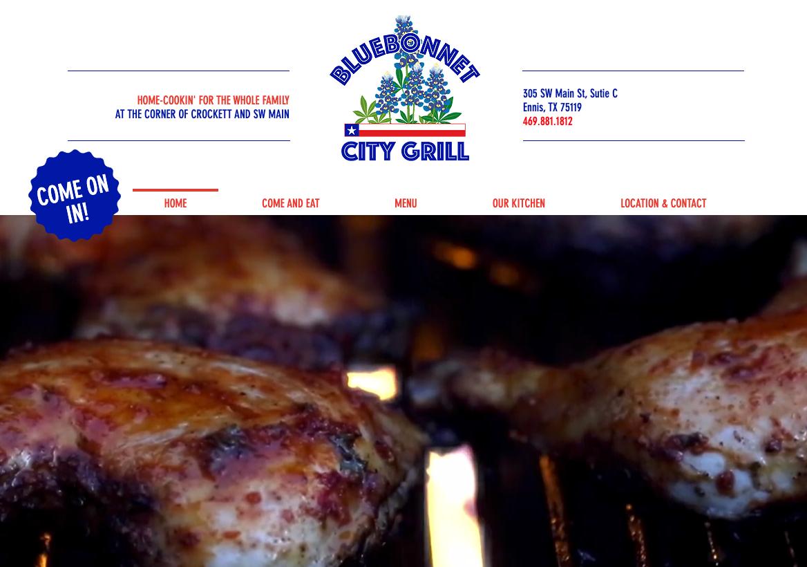 Bluebonnet City Grill