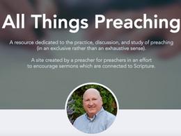 All Things Preaching