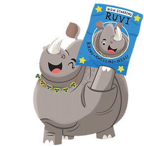 Ruvi holding banner.png