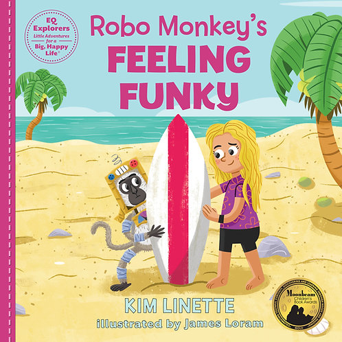 Robo Monkey's Feeling Funky: Hardback Book