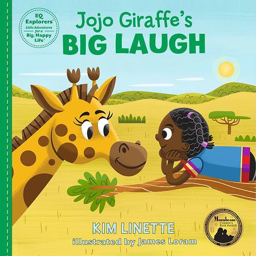 Jojo Giraffe's Big Laugh: Hardback Book