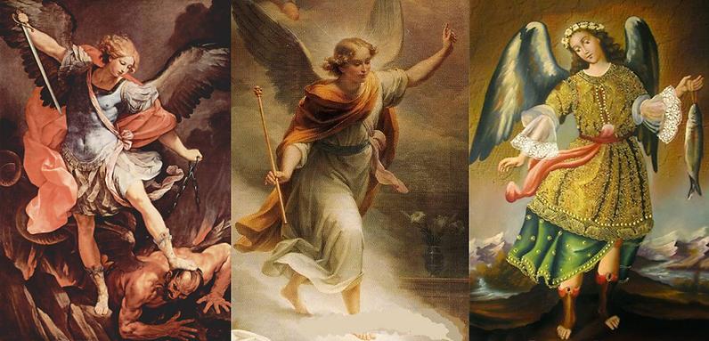 San Miguel, San Gabriel y San Rafael