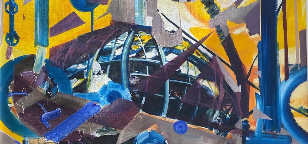 'Atomium under Construction 4'   2017