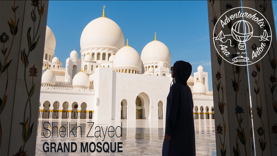 Serenity in Sheikh Zayed Grand Mosque | Adventureholix Vlog