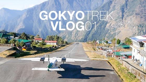 LUKLA AIRPORT TO PHAKDING  | Gokyo Trek | Vlog 01 | S2:E1