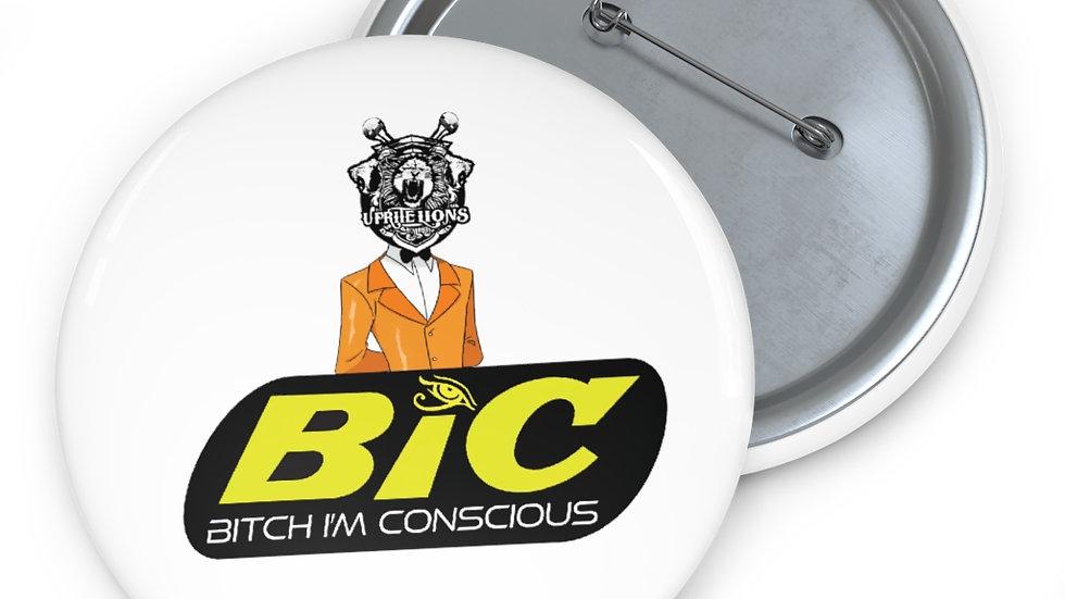 BiC Pins & Buttons