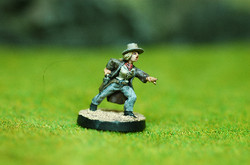 28mm Cow Girl