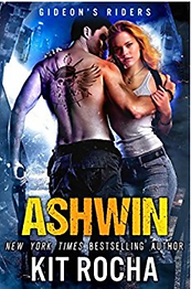 Ashwin by Kit Rocha. Their covers are so good.