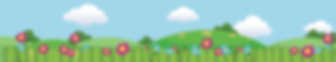 Wow Trees Clouds Flowers background png
