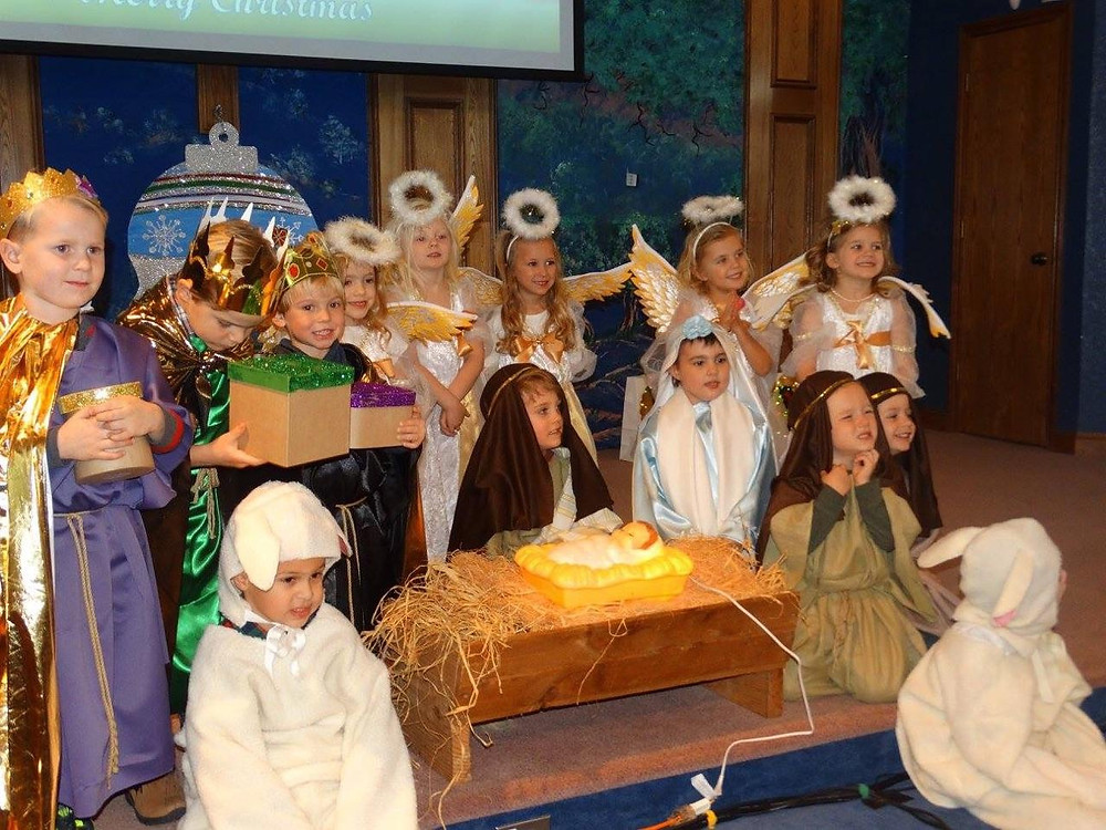 """Today at Oak Hills Church, home of The Nest Preschool, our sweet angles will be doing an encore performance of this year's Christmas Program """"My Favorite Day"""".  Service starts at 10:45 AM.  Come and get blessed by God most sweet and precious creations and be reminded what Christmas is all about."""